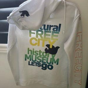 Freecity white hoodie